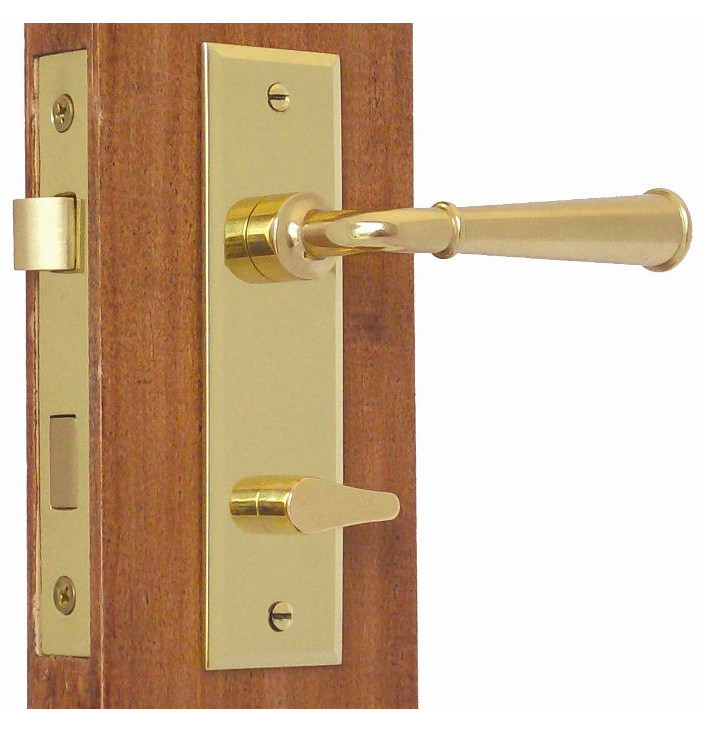 privacy door knob set photo - 7