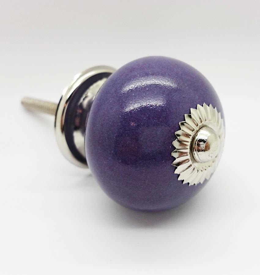 purple door knob photo - 16