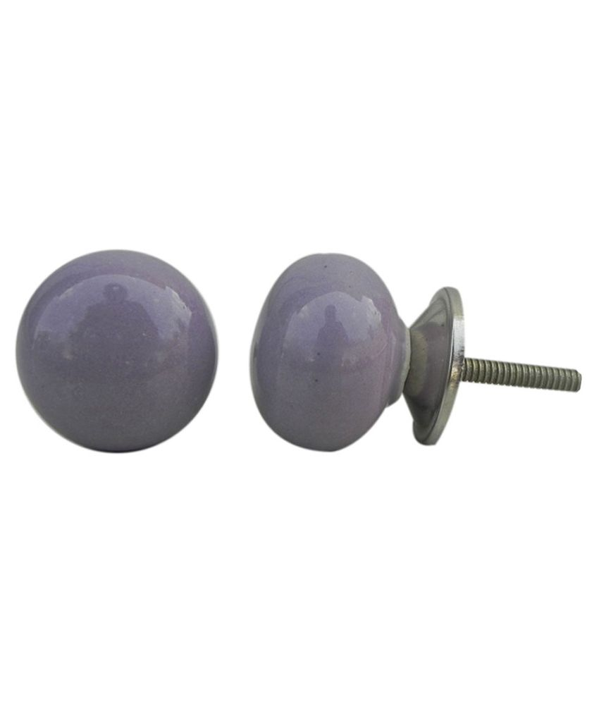 purple door knobs photo - 10