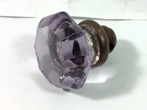 purple door knobs photo - 14