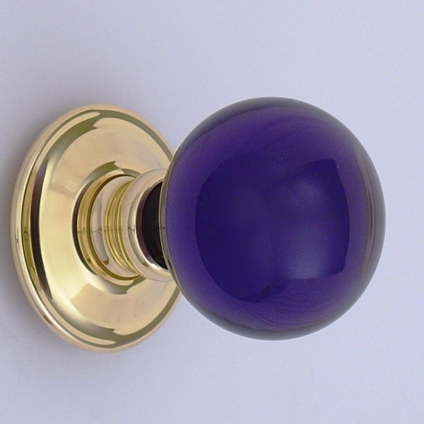 purple door knobs photo - 18