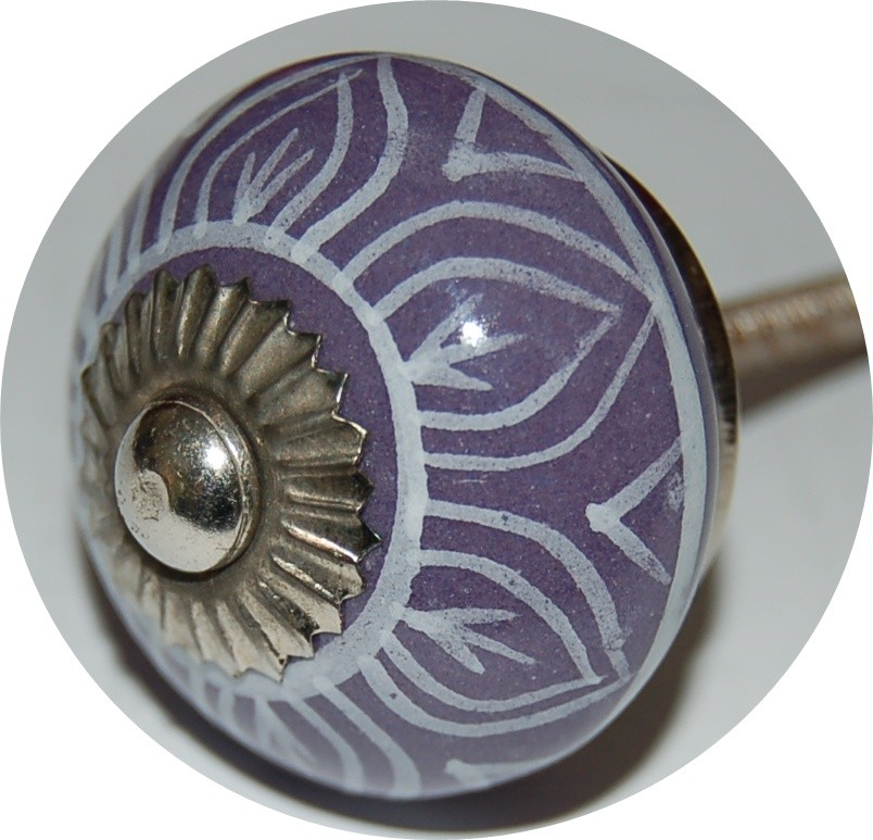 purple door knobs photo - 20