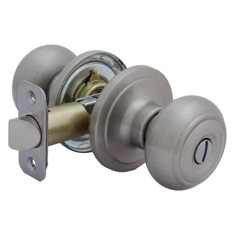 push lock door knob photo - 7