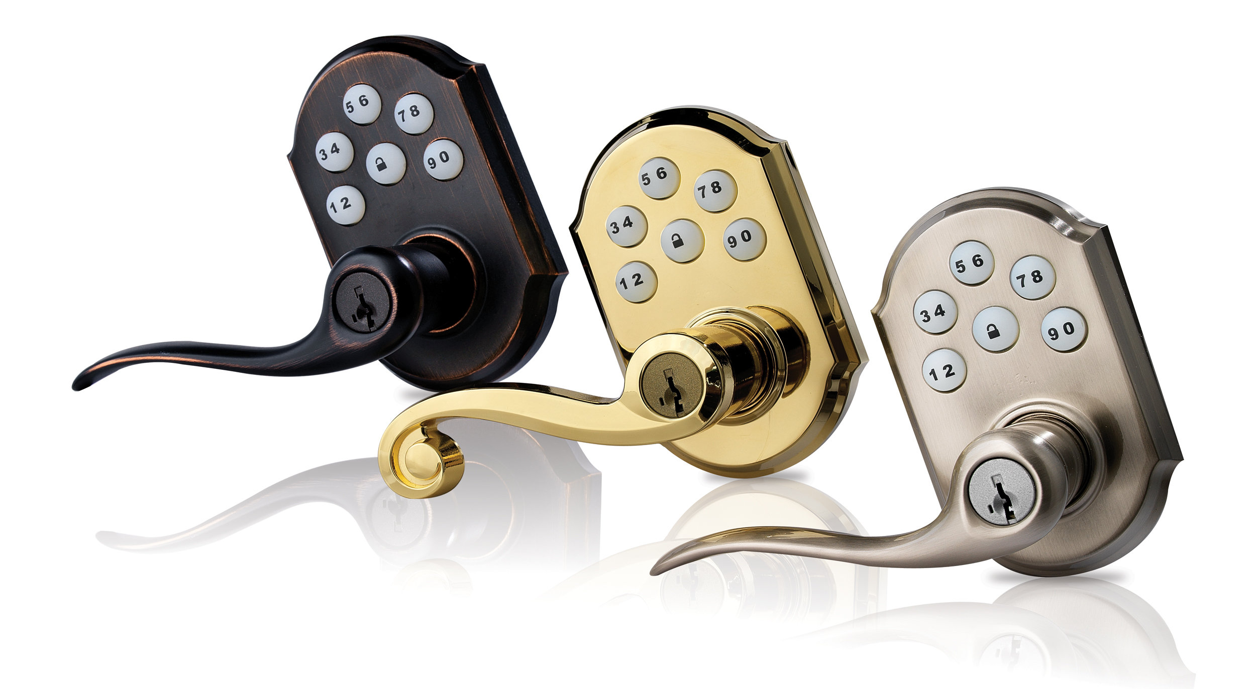 quick set door knobs photo - 10