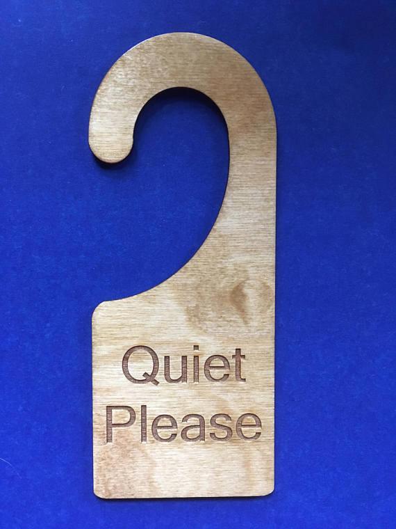 quiet door knobs photo - 5