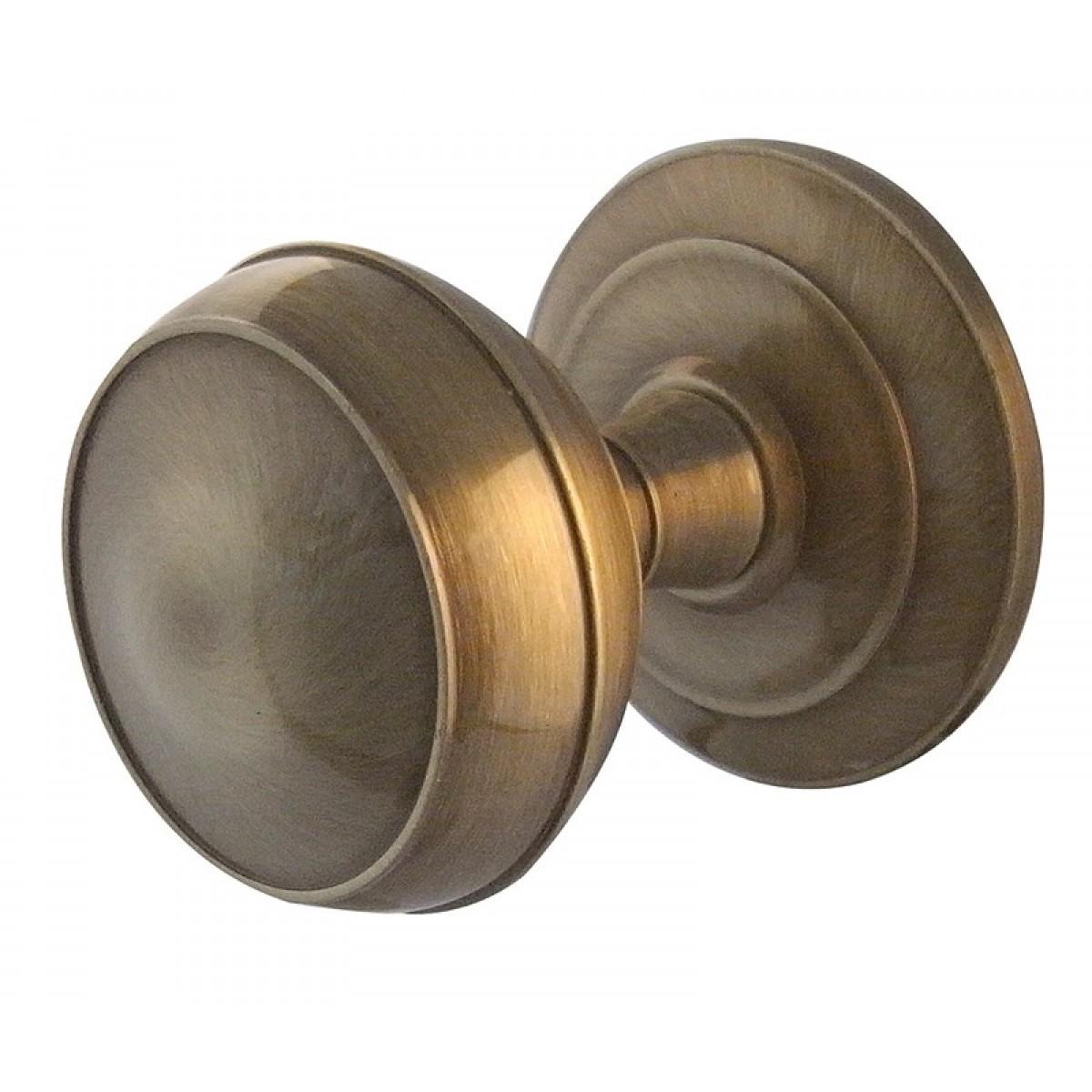 reclaimed brass door knobs photo - 14