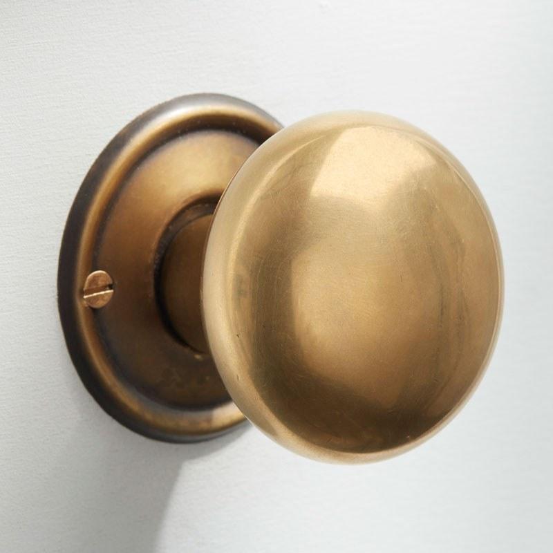 reclaimed brass door knobs photo - 20
