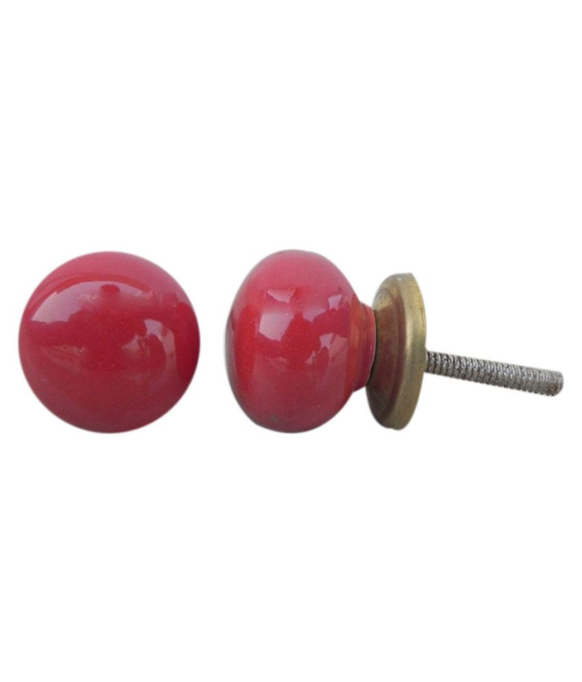 red door knob photo - 11