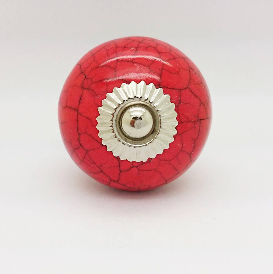 Red door knobs – Door Knobs