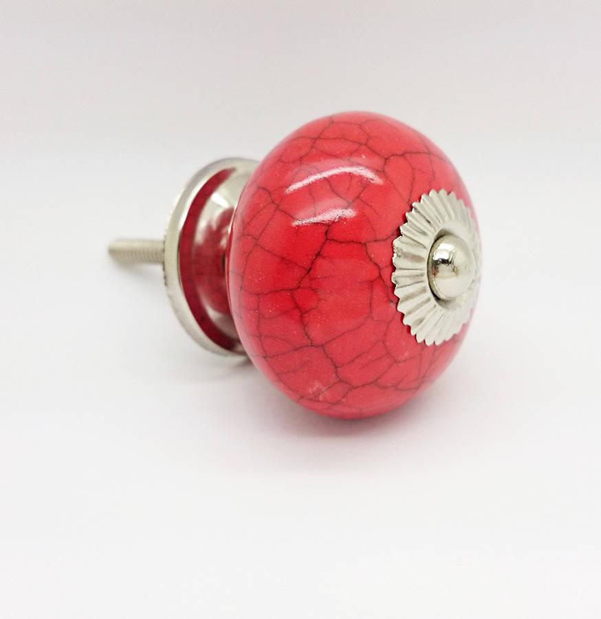 red door knobs photo - 4