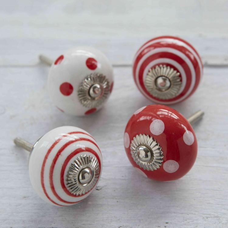 red door knobs photo - 9