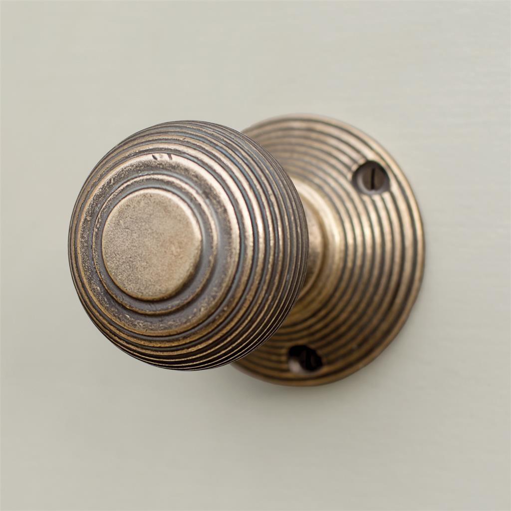 reeded door knobs photo - 14