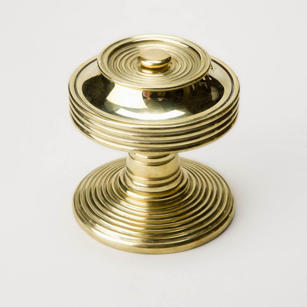 reeded door knobs photo - 2