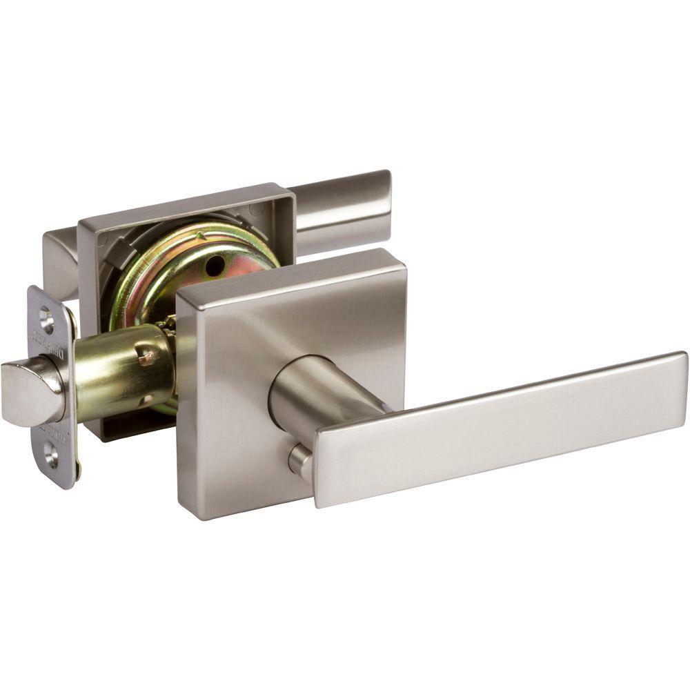 remove door knob without screws photo - 12