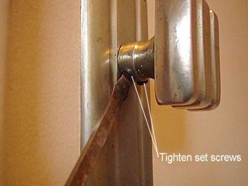 repair door knob photo - 11