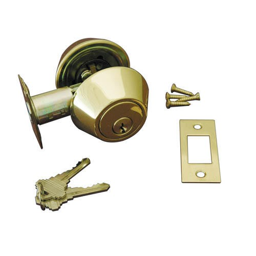replace door knob with deadbolt photo - 11