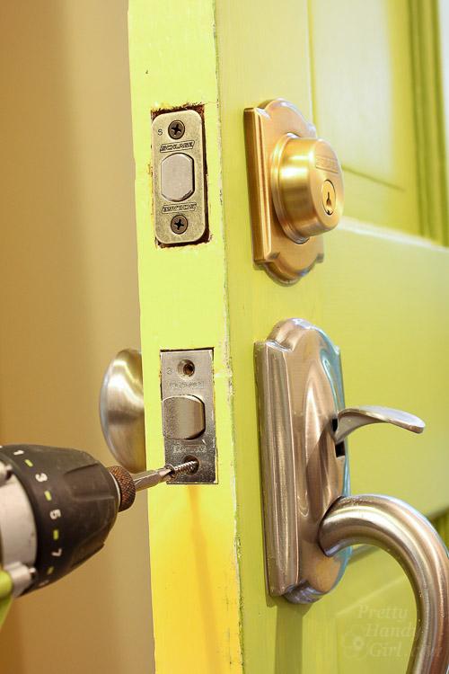 replace door knob with deadbolt photo - 12