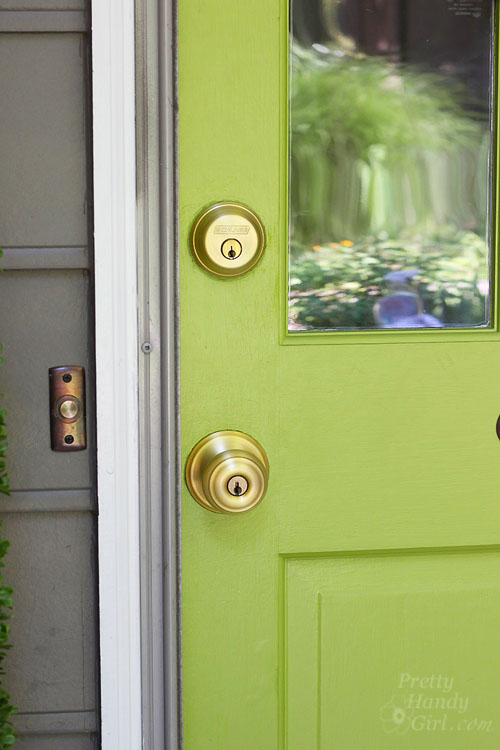 replace door knob with deadbolt photo - 18