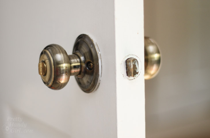 replace door knob with deadbolt photo - 5