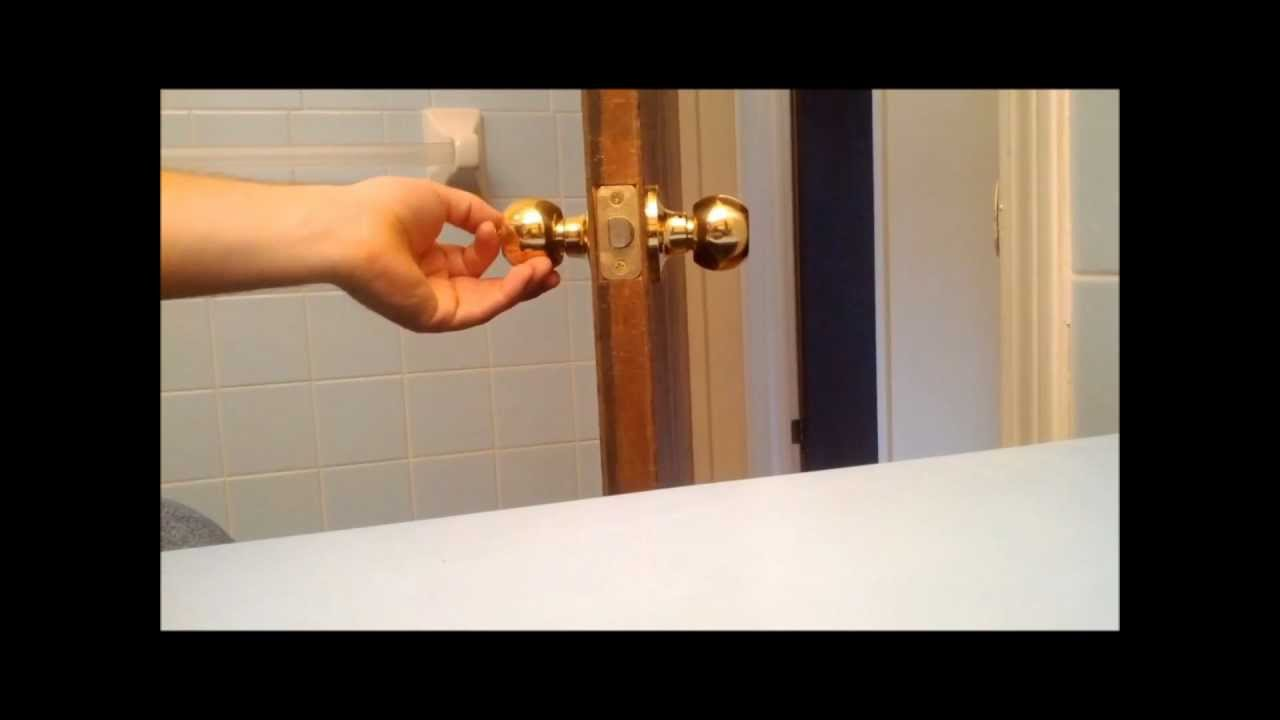 replace interior door knob photo - 4