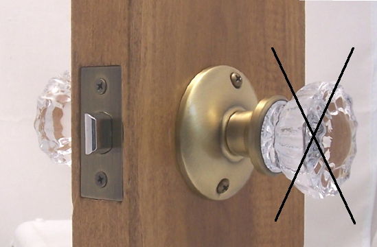 replace old door knob photo - 7