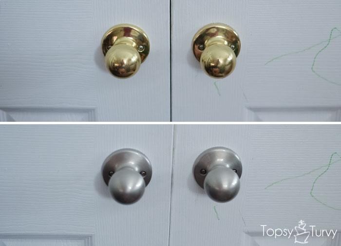 replacing door knob photo - 12