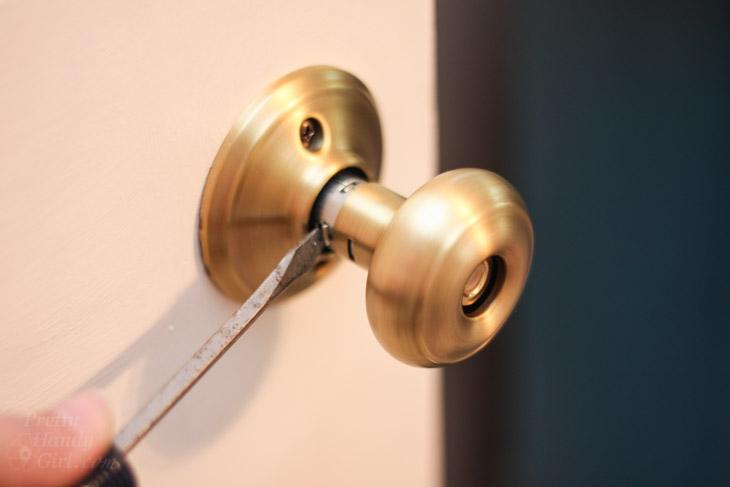 replacing door knobs photo - 10
