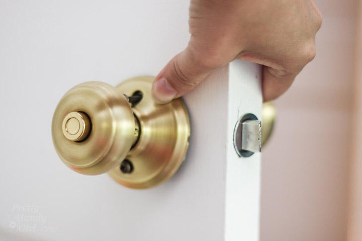 replacing door knobs photo - 6