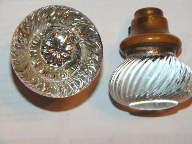 reproduction glass door knobs photo - 5