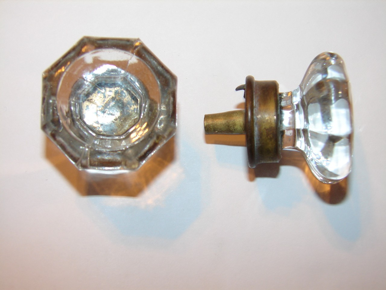 restoration hardware glass door knobs photo - 1