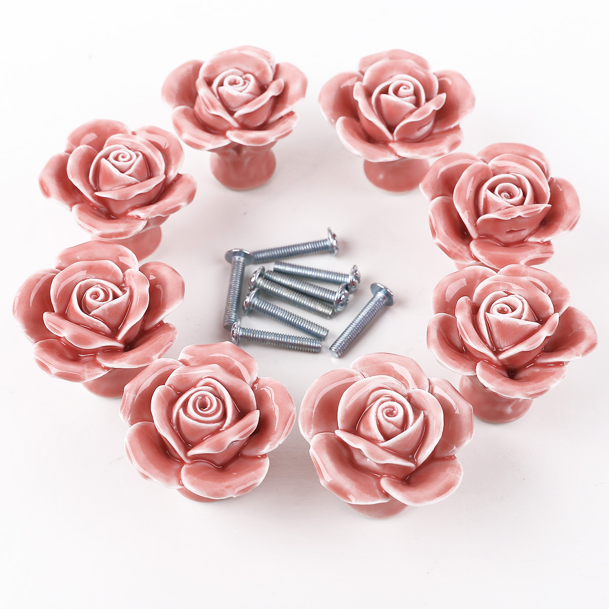 rose door knobs photo - 19