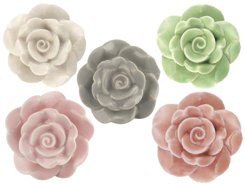 rose door knobs photo - 5