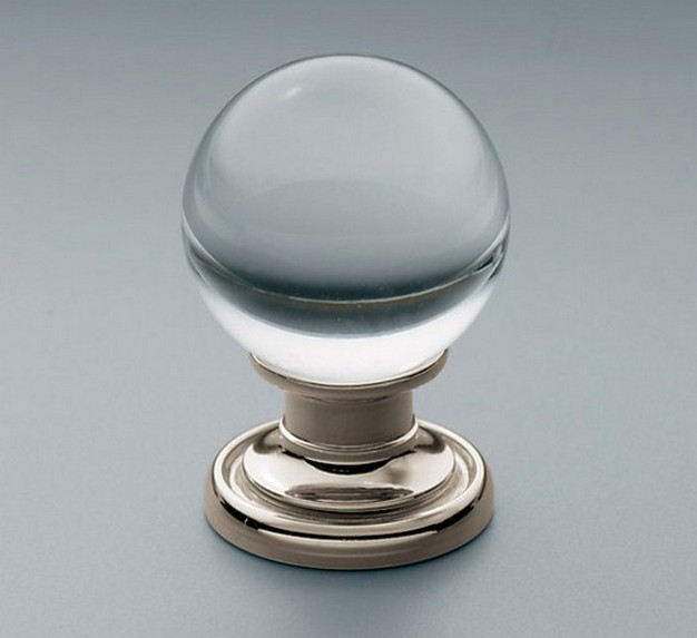 round glass door knobs photo - 11