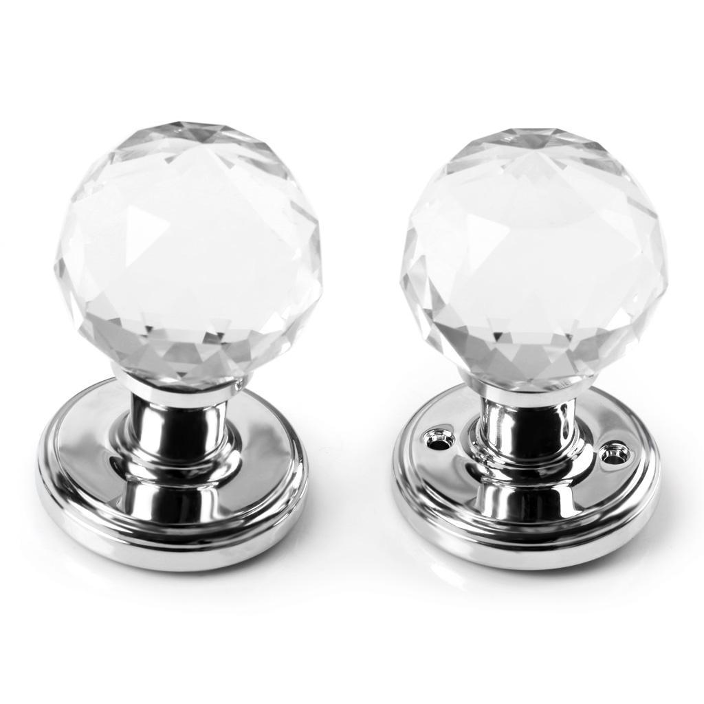 round glass door knobs photo - 17