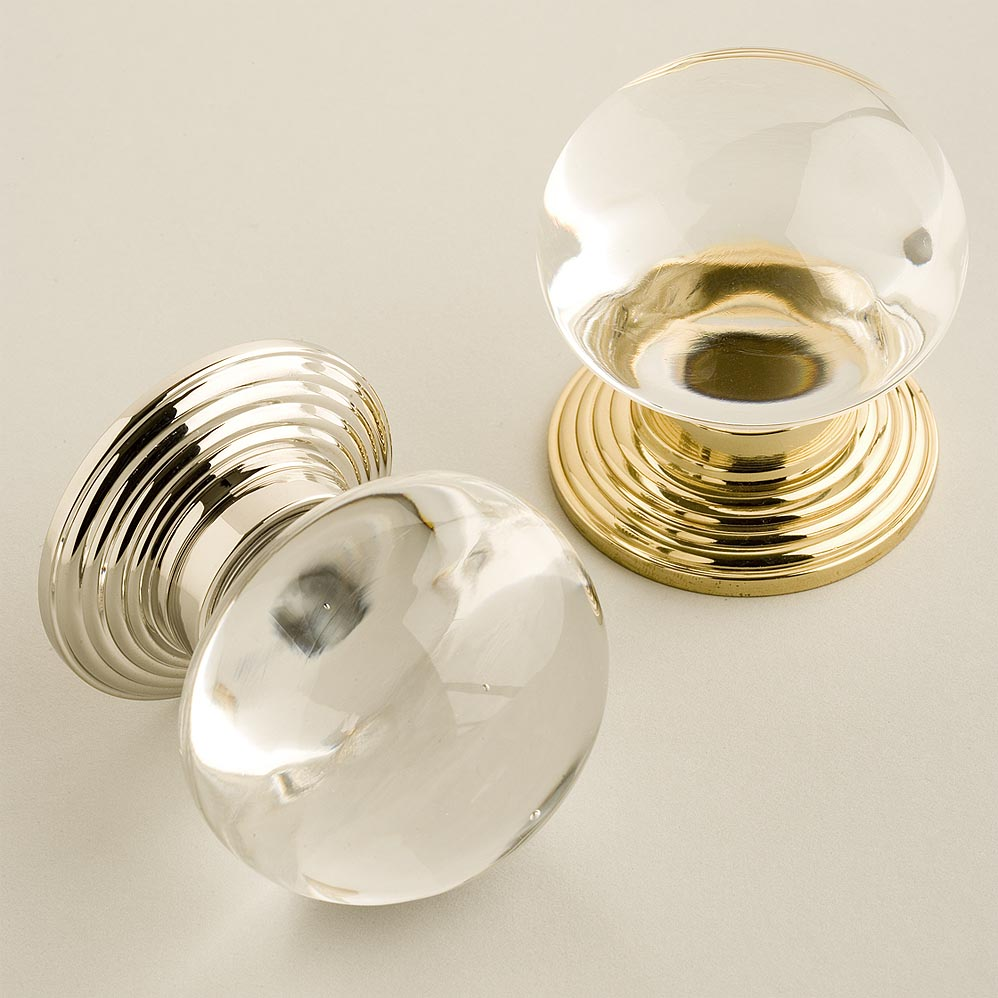 round glass door knobs photo - 18