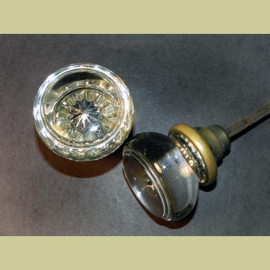 round glass door knobs photo - 20