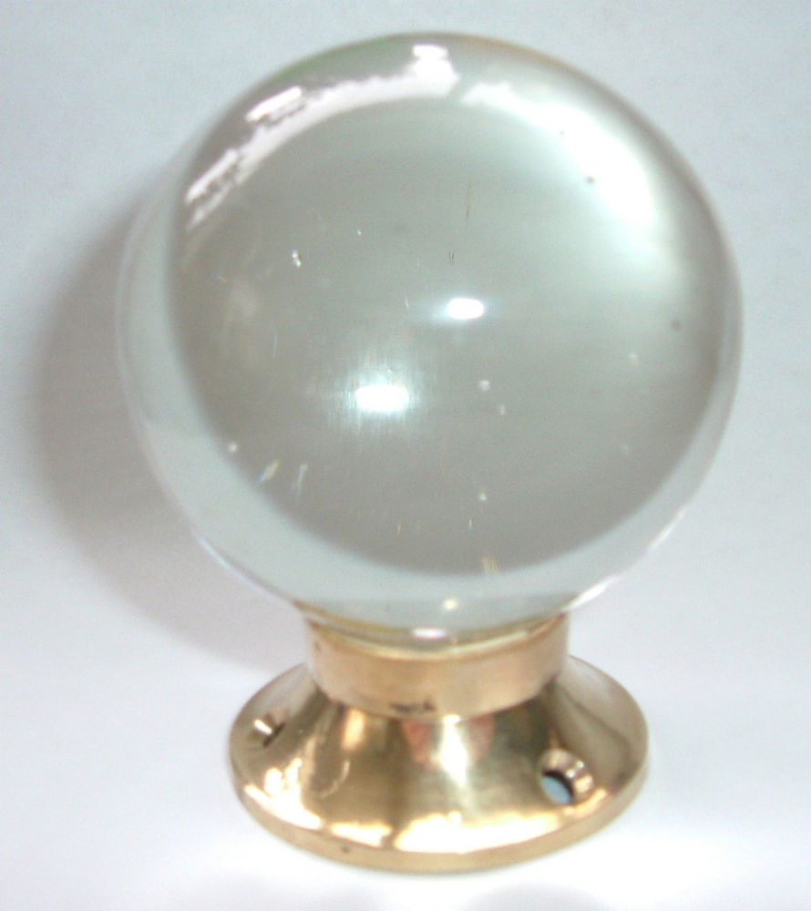 round glass door knobs photo - 3