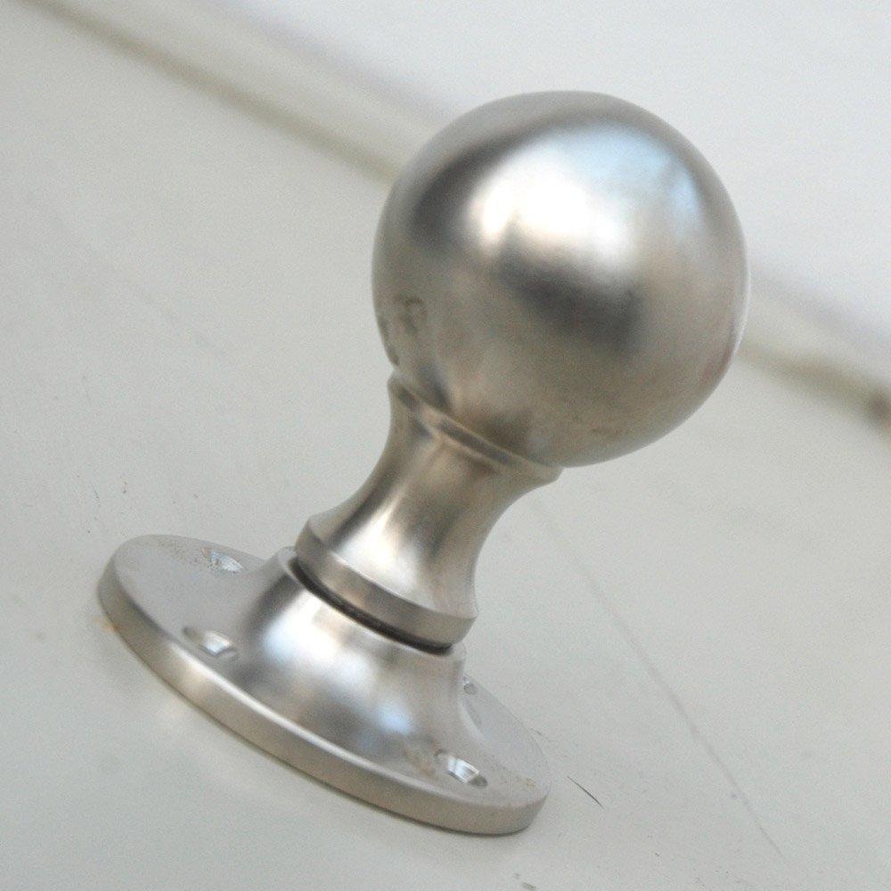 satin door knobs photo - 2