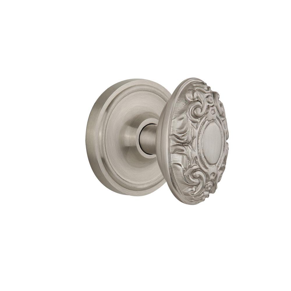 satin nickel interior door knobs photo - 16