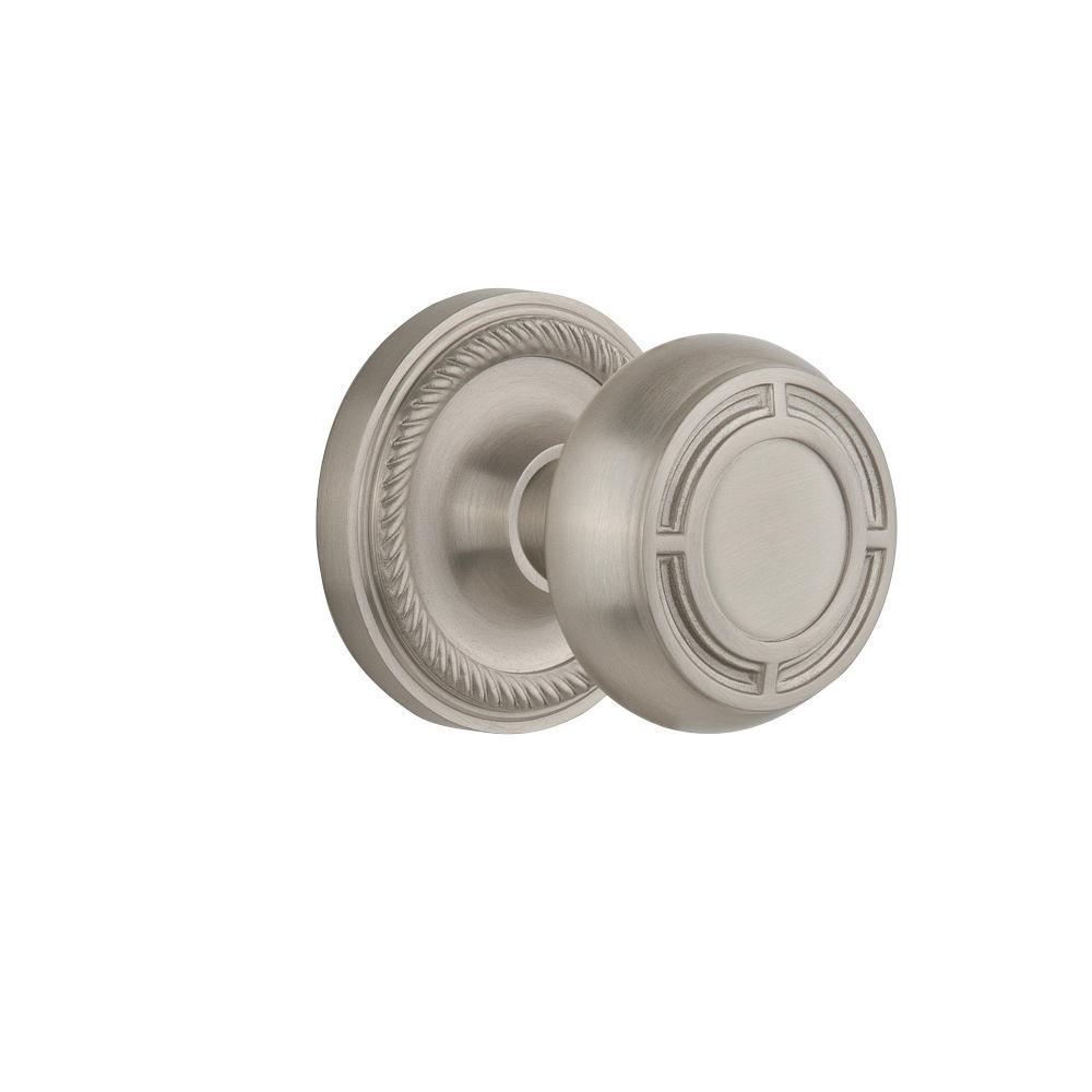 satin nickel interior door knobs photo - 18