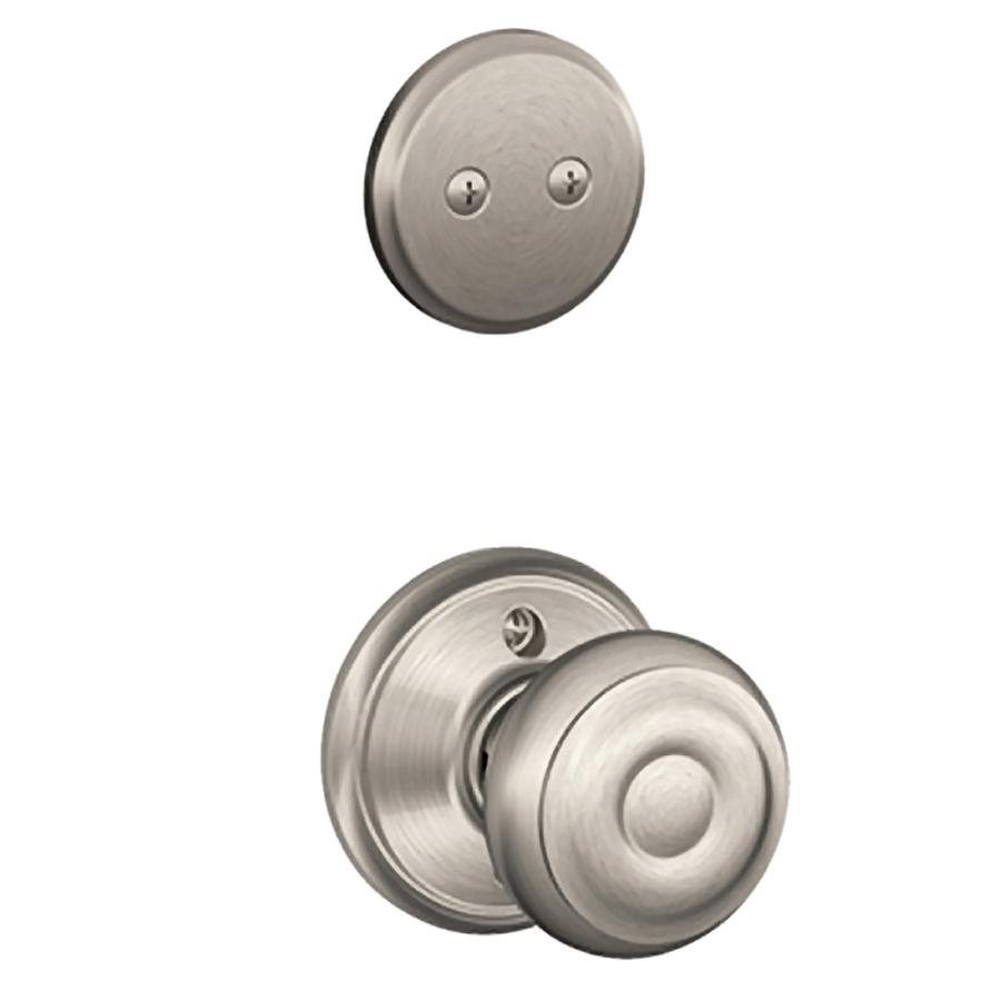satin nickel interior door knobs photo - 19