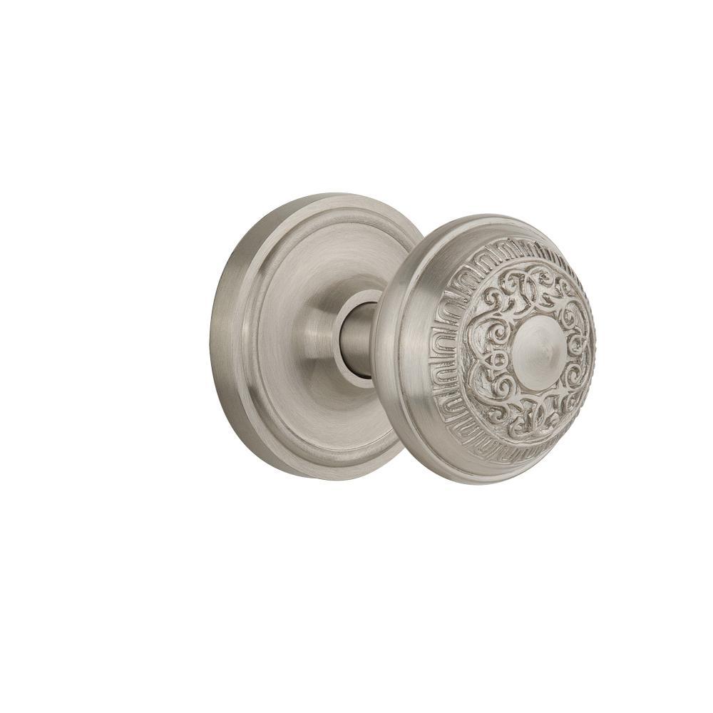 satin nickel interior door knobs photo - 20
