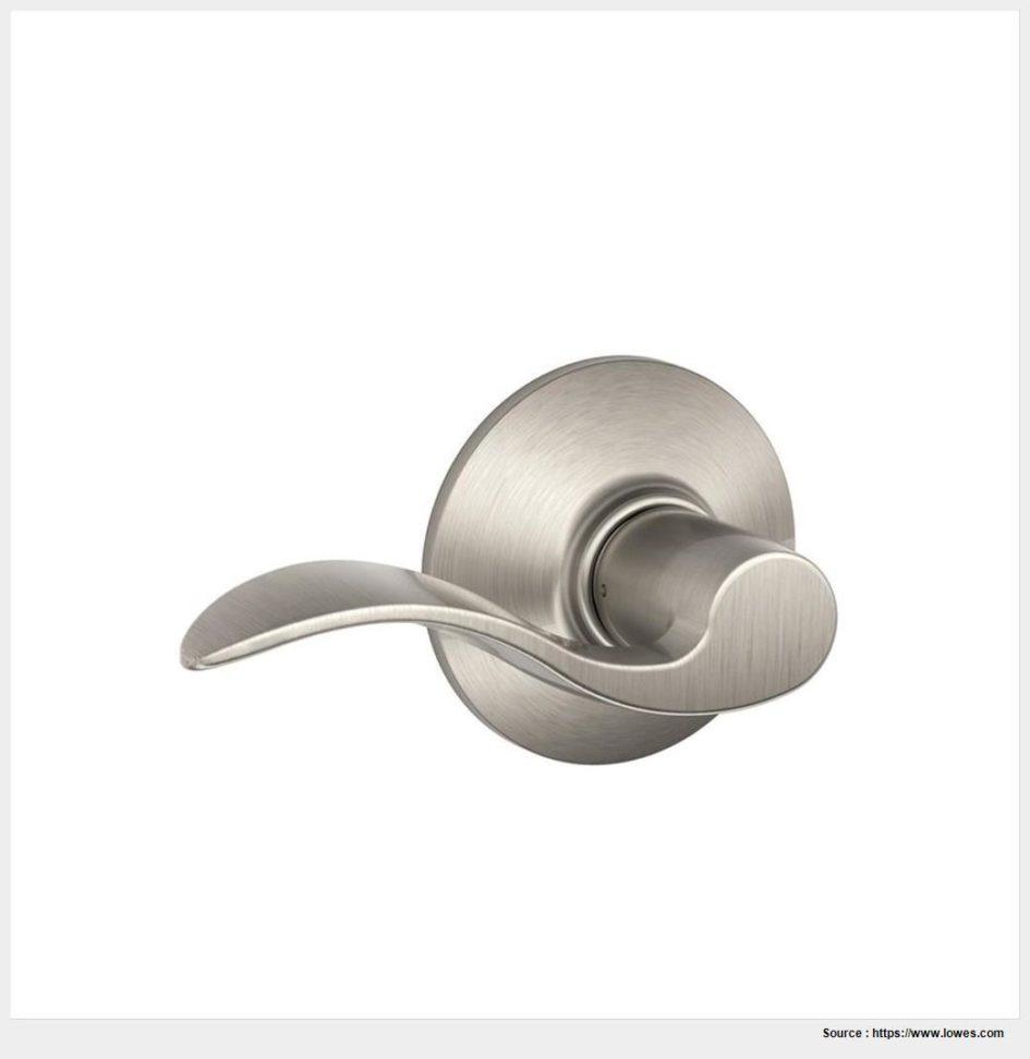satin nickel interior door knobs photo - 3