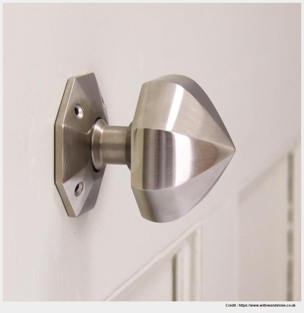 satin nickel interior door knobs photo - 5