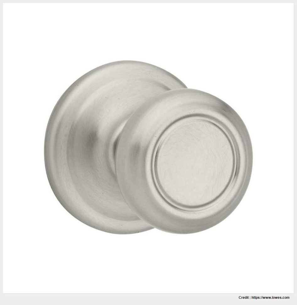 satin nickel interior door knobs photo - 6