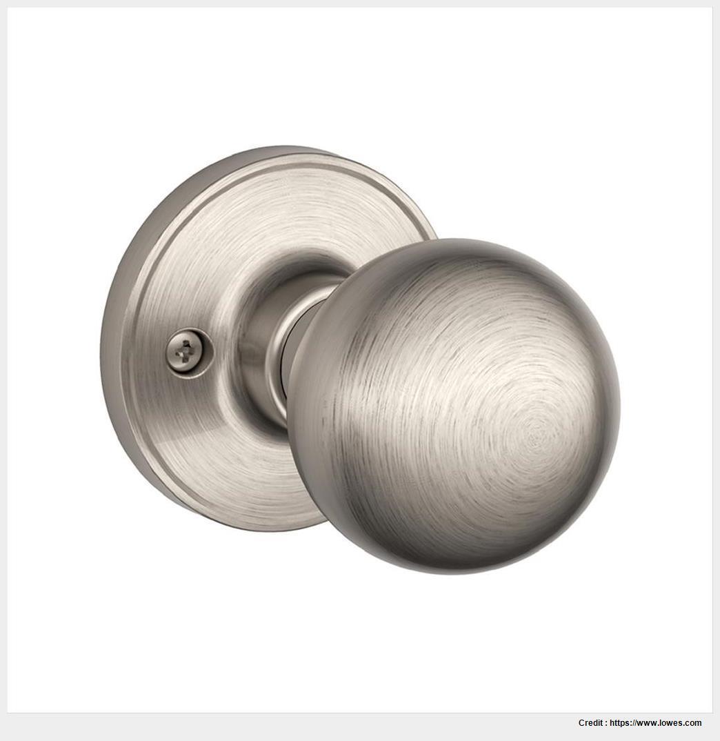 satin nickel interior door knobs photo - 9