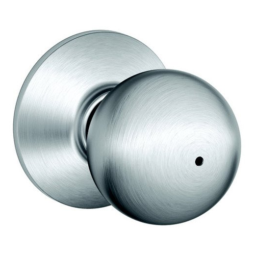schlage chrome door knobs photo - 13