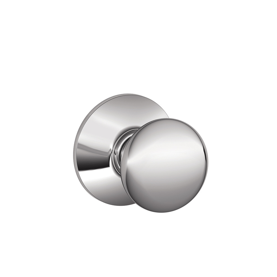 schlage chrome door knobs photo - 17