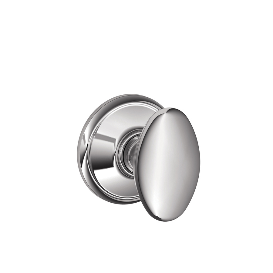 schlage chrome door knobs photo - 3