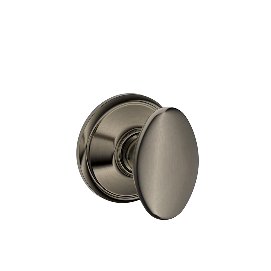 schlage door knob installation photo - 1